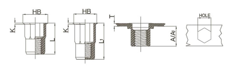 reduce-head-half-hex-stainless-steeld