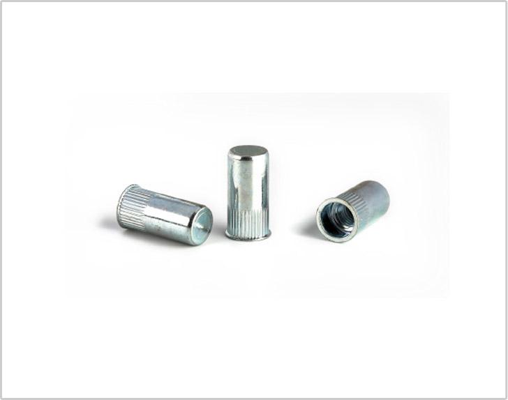 Reduce head knurled body steel